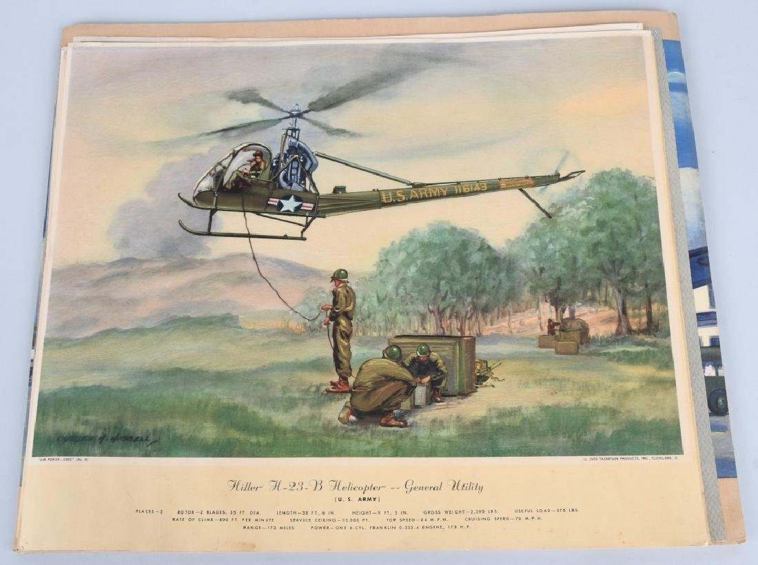 CHARLES HUBBELL AVIATION PRINTS THOMSPON PRODUCTS - 2