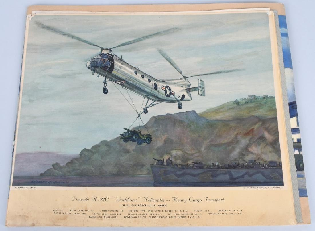 CHARLES HUBBELL AVIATION PRINTS THOMSPON PRODUCTS - 3