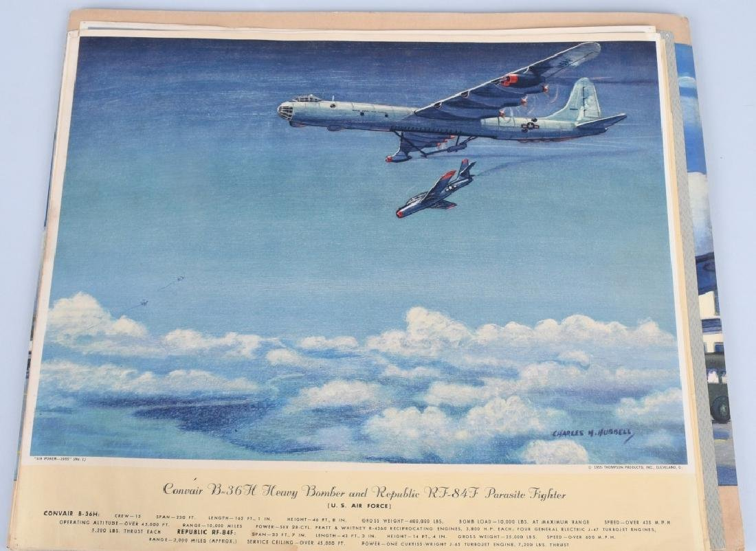 CHARLES HUBBELL AVIATION PRINTS THOMSPON PRODUCTS - 4