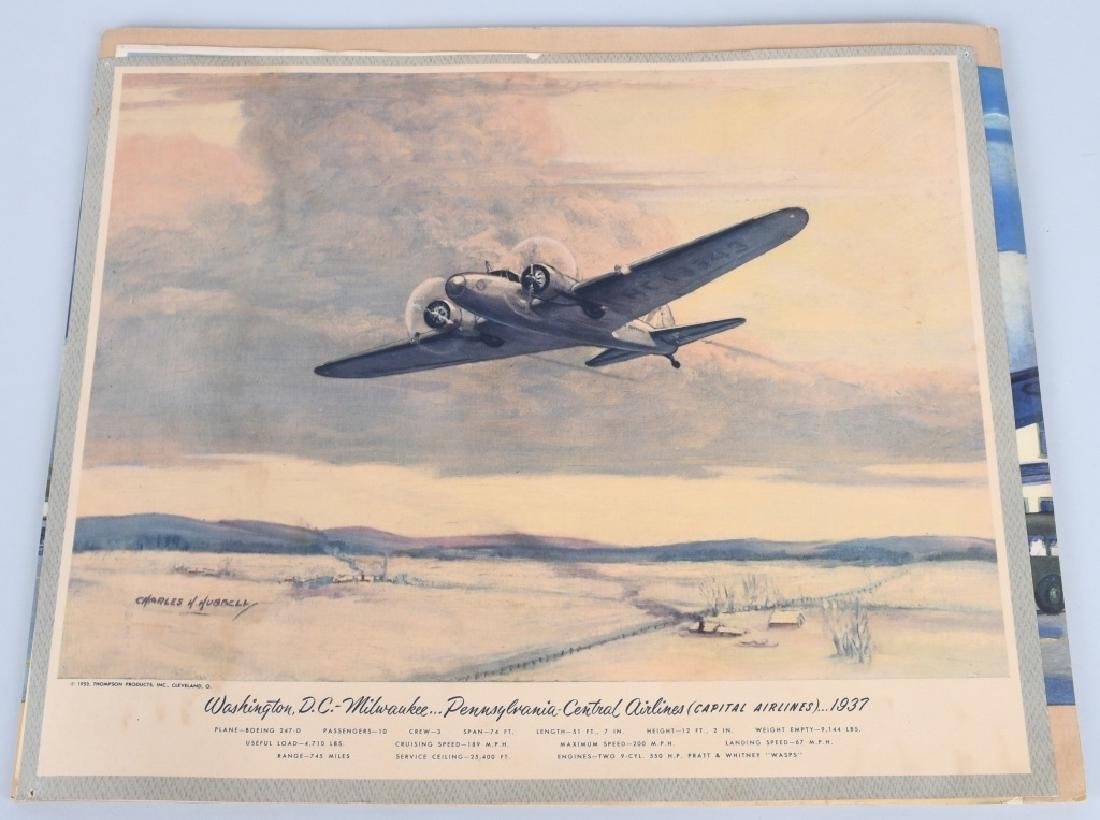 CHARLES HUBBELL AVIATION PRINTS THOMSPON PRODUCTS - 5