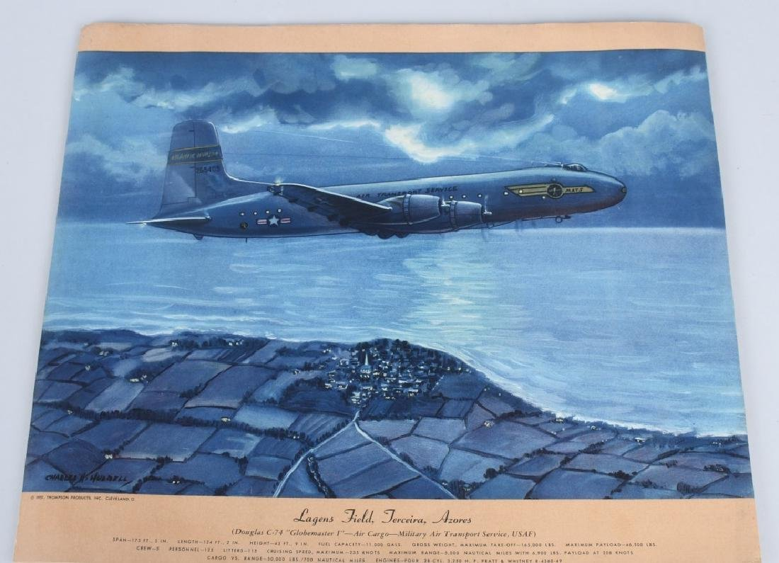 CHARLES HUBBELL AVIATION PRINTS THOMSPON PRODUCTS - 6