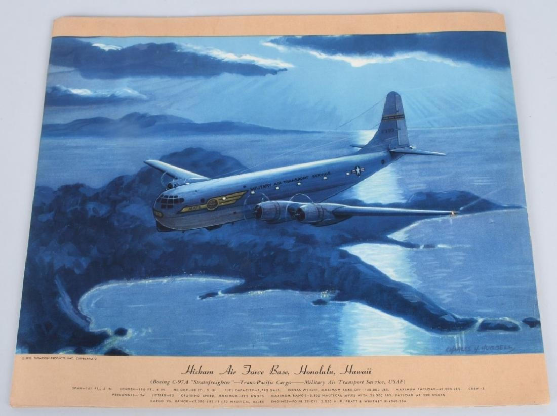 CHARLES HUBBELL AVIATION PRINTS THOMSPON PRODUCTS - 7