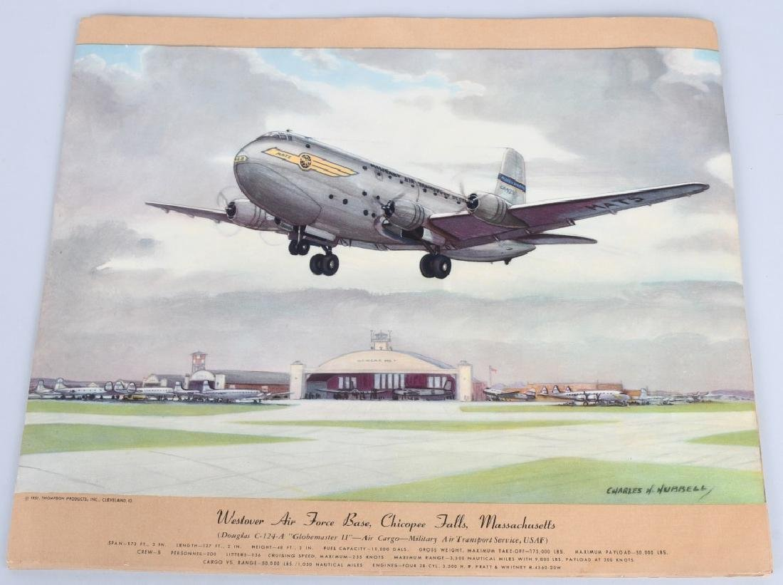 CHARLES HUBBELL AVIATION PRINTS THOMSPON PRODUCTS - 8