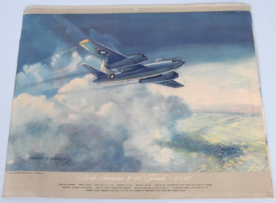CHARLES HUBBELL AVIATION PRINTS THOMSPON PRODUCTS - 9
