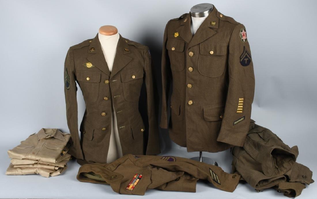U.S. WWII - VETNAM CLOTHING LOT