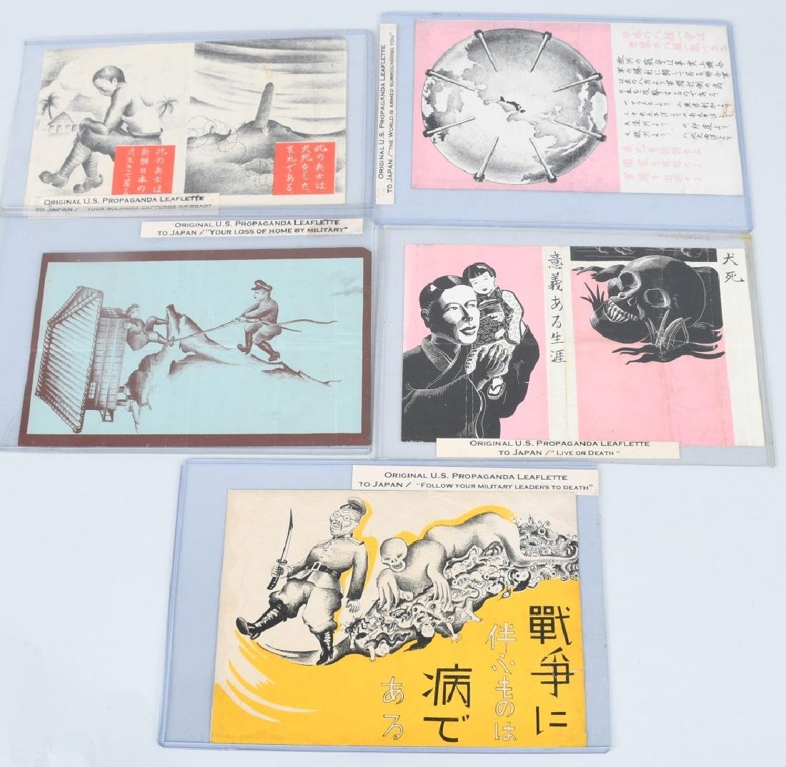 WWII U.S. AAF PROPAGANDA LEAFLETS DROPPED ON JAPAN
