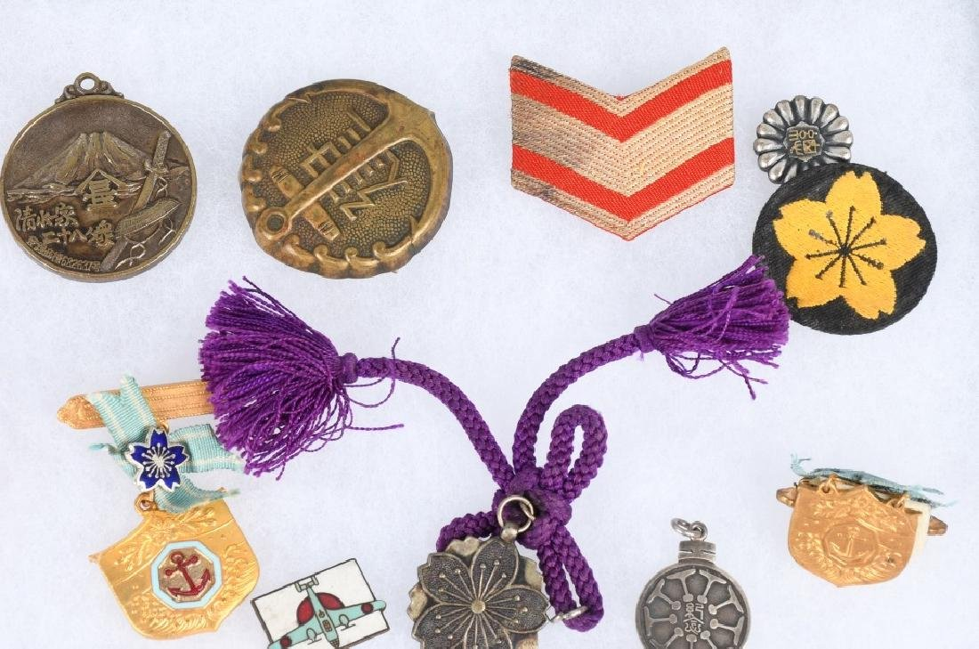 WWII JAPANESE MEDAL AND INSIGNIA LOT - 5