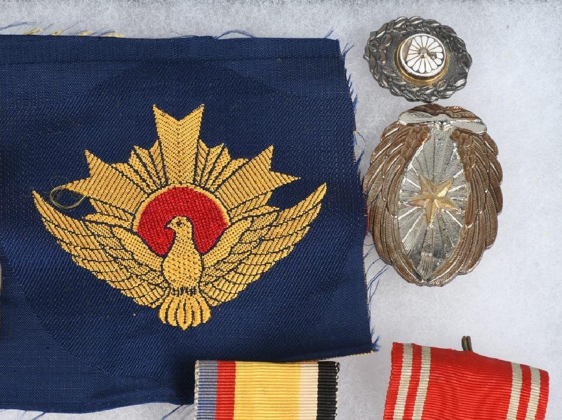 WWII JAPANESE MEDAL AND INSIGNIA LOT - 3