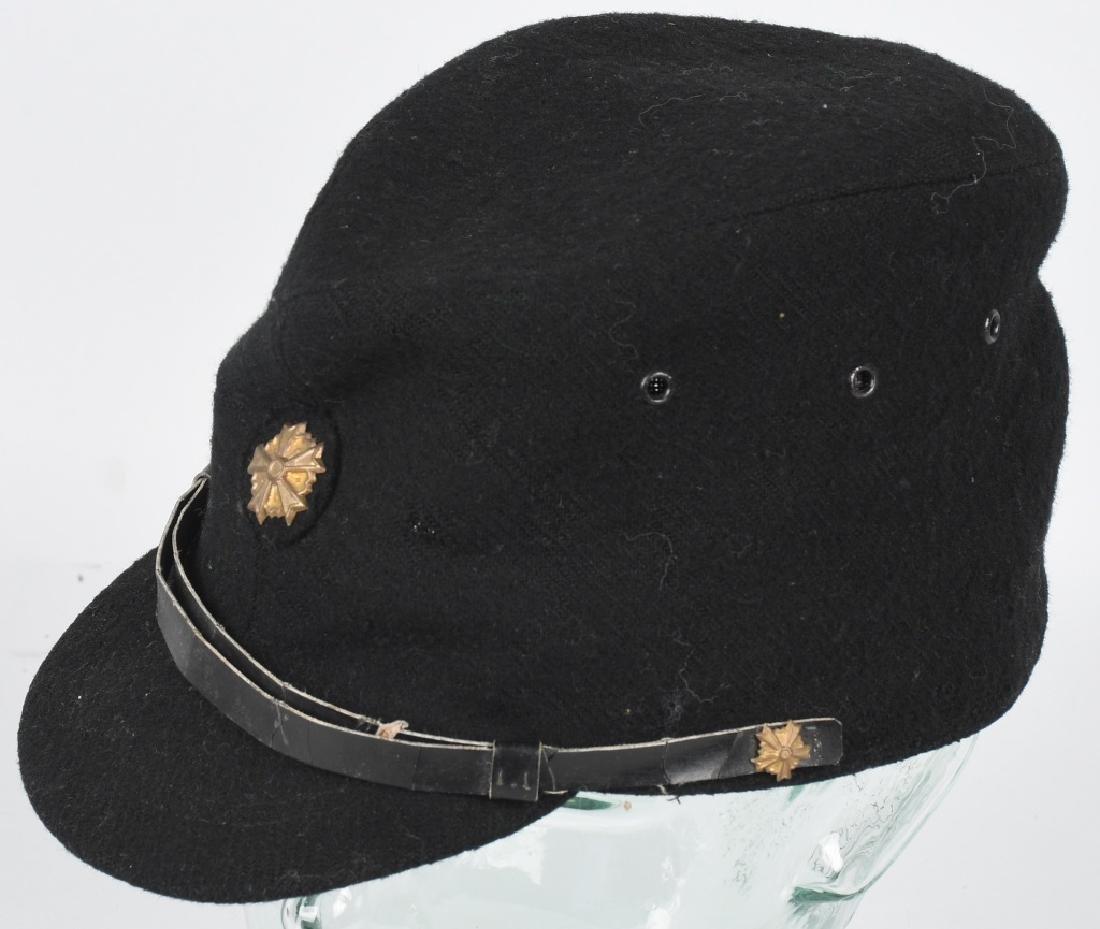 WWII JAPANESE CIVIL DEFENSE GUARD VISOR CAP