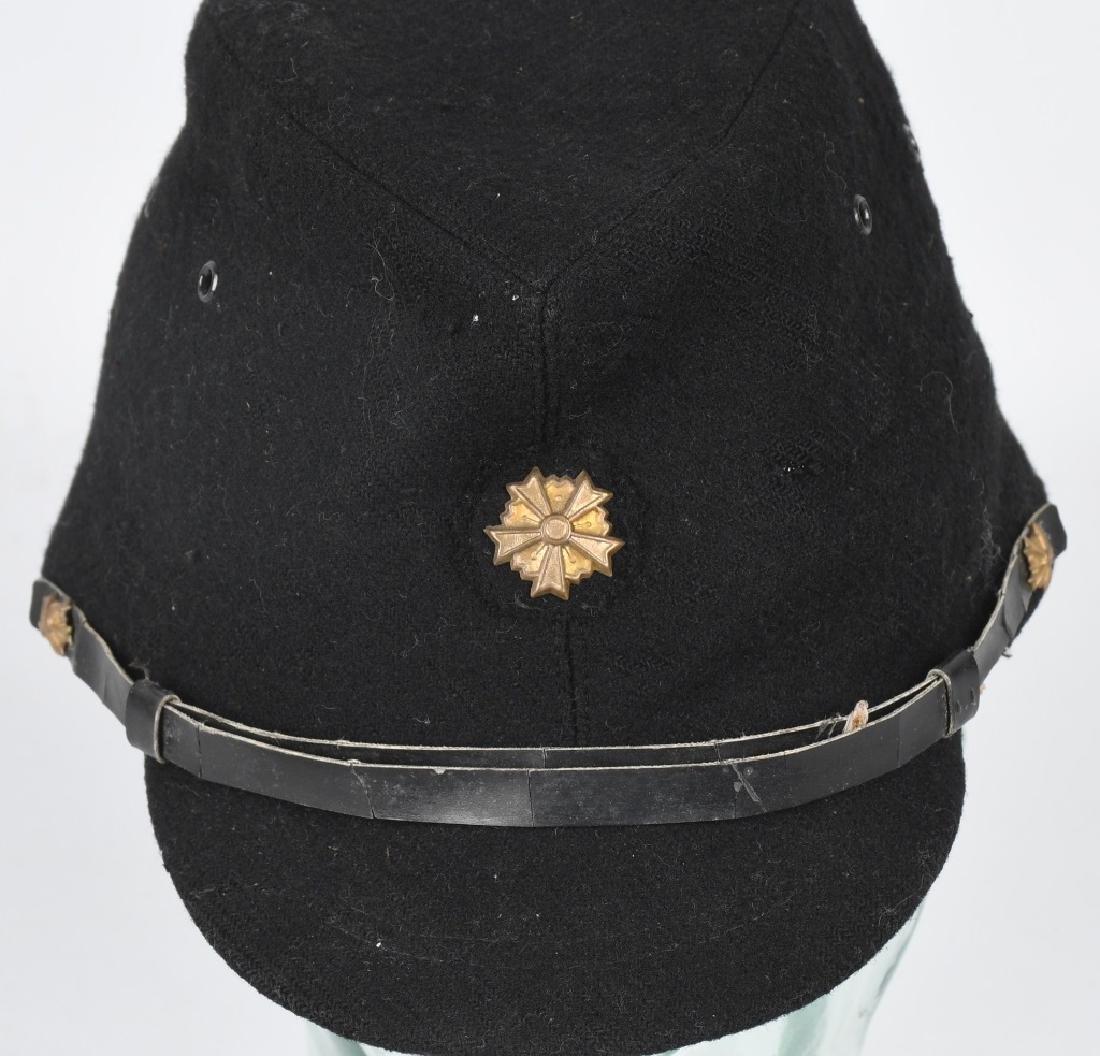 WWII JAPANESE CIVIL DEFENSE GUARD VISOR CAP - 2