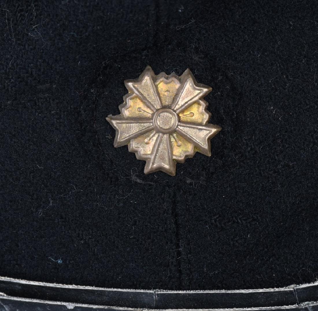 WWII JAPANESE CIVIL DEFENSE GUARD VISOR CAP - 3