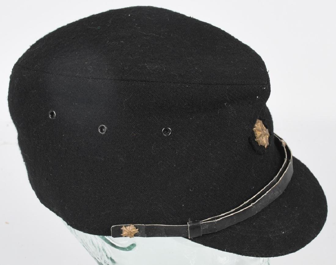 WWII JAPANESE CIVIL DEFENSE GUARD VISOR CAP - 6
