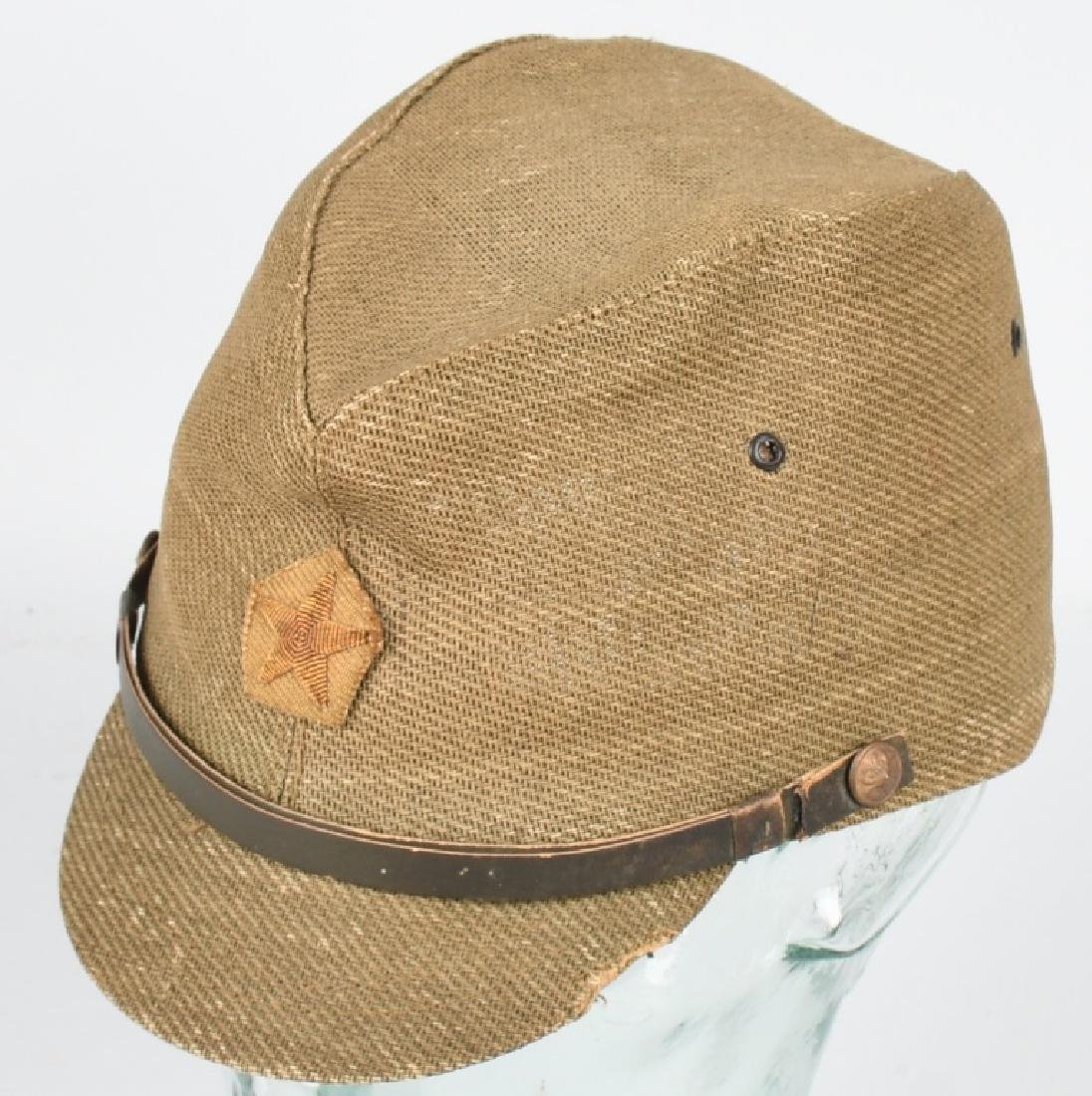 WWII JAPANESE OFFICER COMBAT CAP