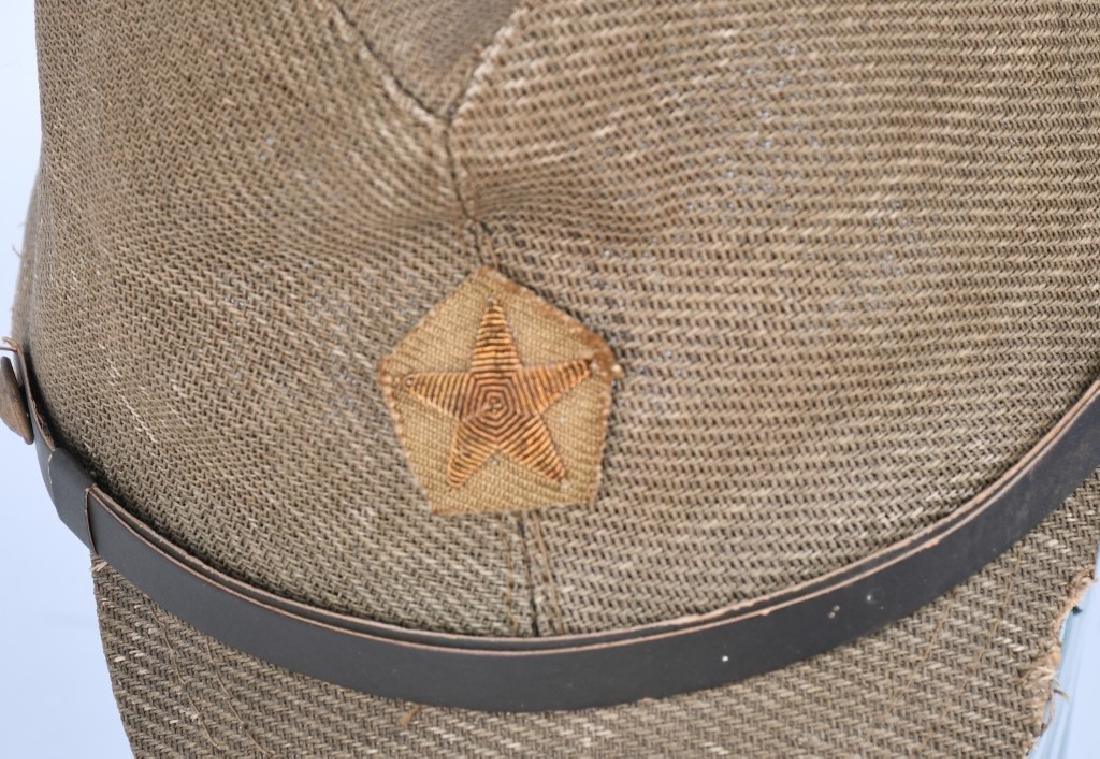 WWII JAPANESE OFFICER COMBAT CAP - 2