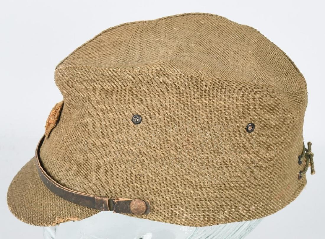 WWII JAPANESE OFFICER COMBAT CAP - 3