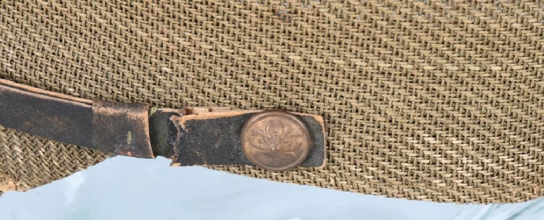 WWII JAPANESE OFFICER COMBAT CAP - 4