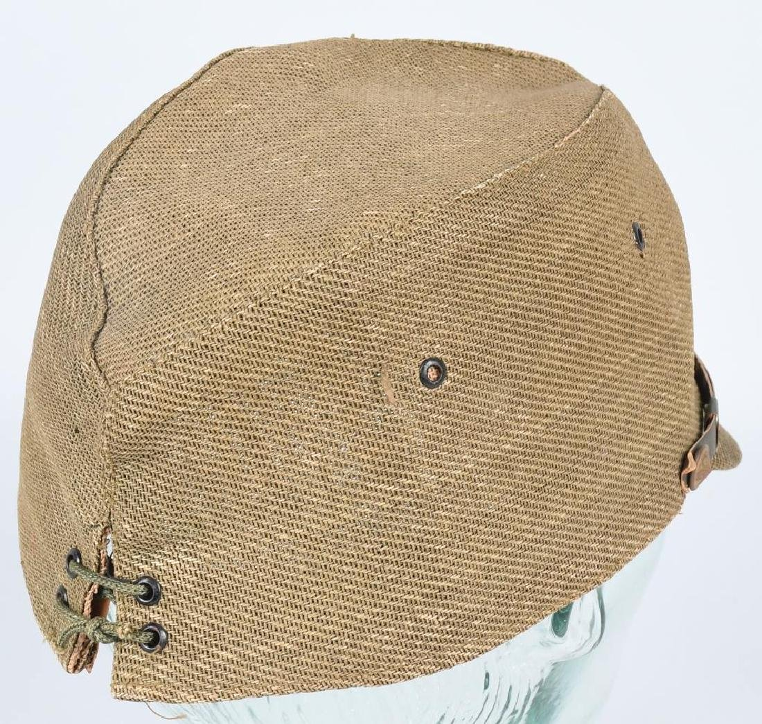WWII JAPANESE OFFICER COMBAT CAP - 5