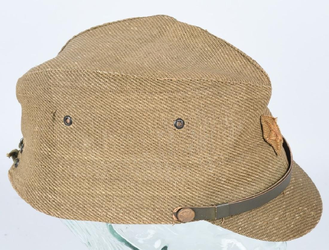 WWII JAPANESE OFFICER COMBAT CAP - 6