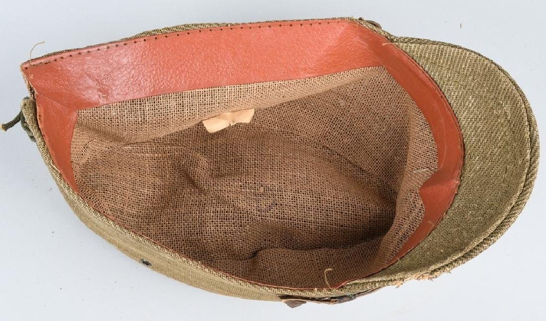 WWII JAPANESE OFFICER COMBAT CAP - 7