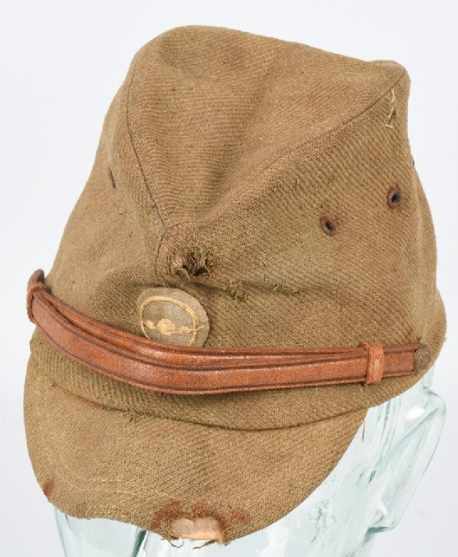 WWII JAPANESE OFFICERS AIR FORCE WOOL CAP