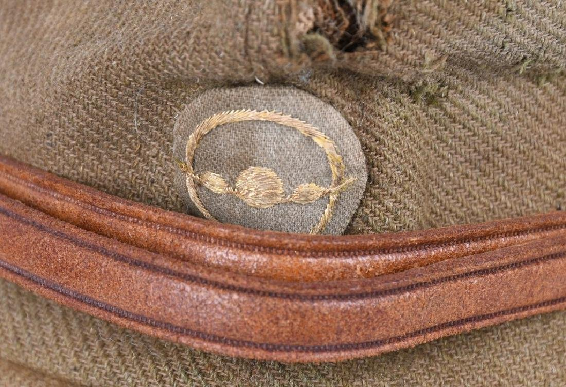 WWII JAPANESE OFFICERS AIR FORCE WOOL CAP - 2