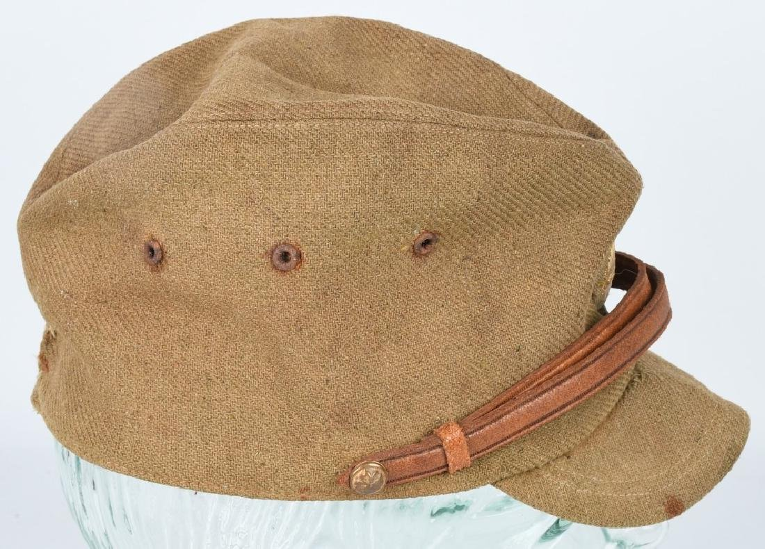 WWII JAPANESE OFFICERS AIR FORCE WOOL CAP - 4