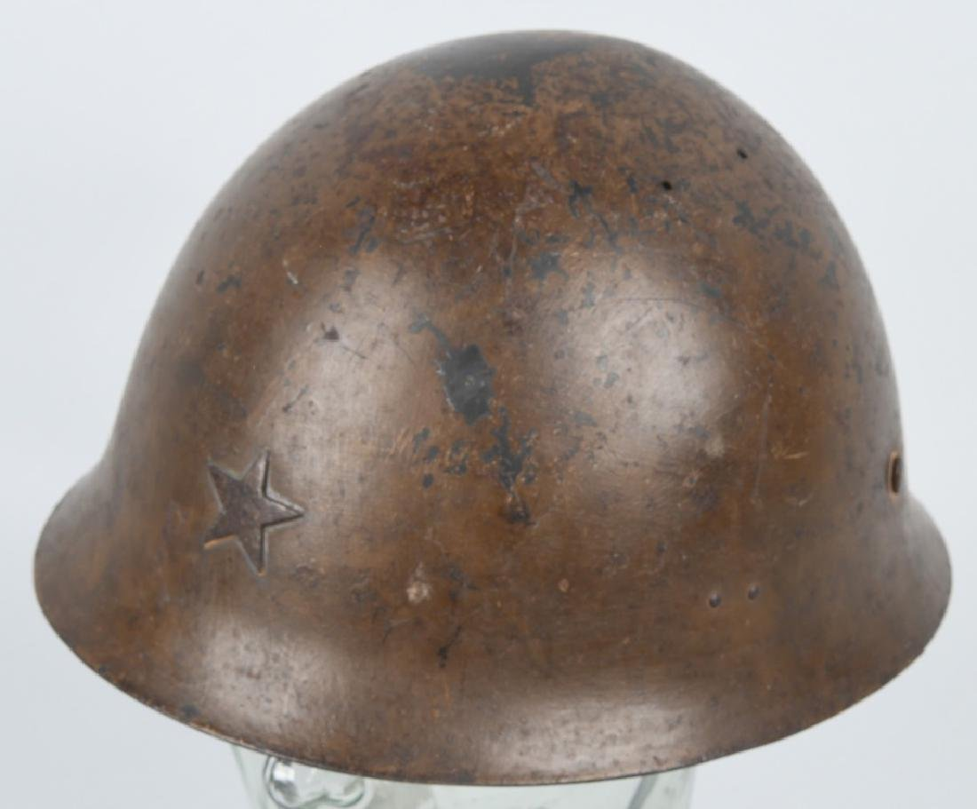 WWII JAPANESE ARMY TYPE 90 HELMET