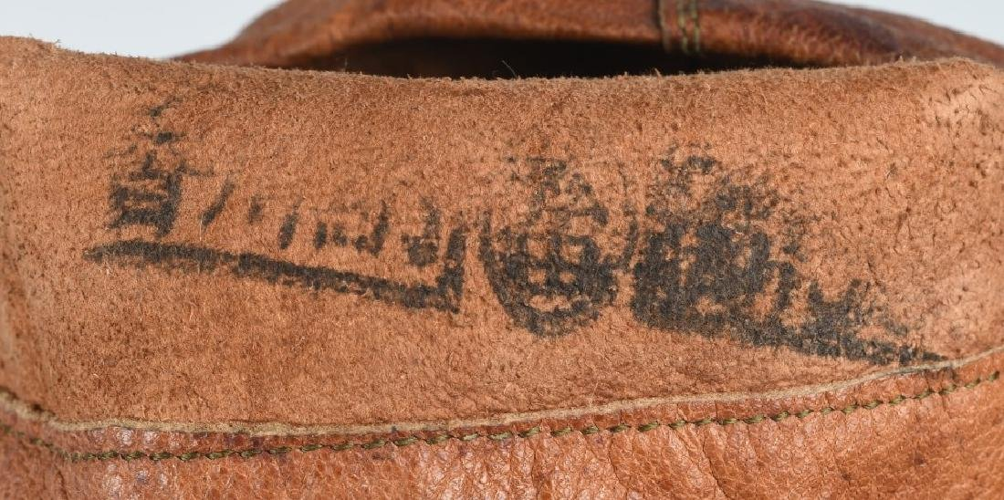 WWII JAPANESE LEATHER PILOT GLOVES - JAPAN - 3
