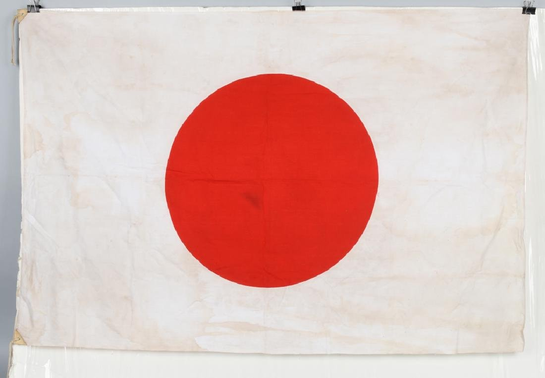 "WWII JAPANESE FLAG - LARGE SIZE 35"" X 52"""