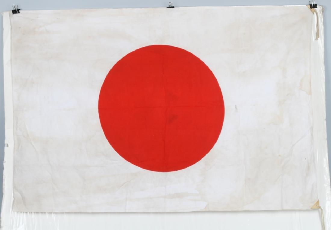 """WWII JAPANESE FLAG - LARGE SIZE 35"""" X 52"""" - 3"""