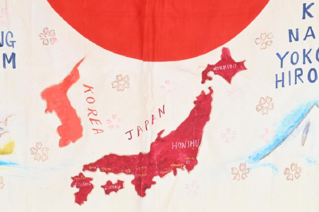 WWII IDED USMC JAPANESE FLAG OCCUPATION & KOREA - 7