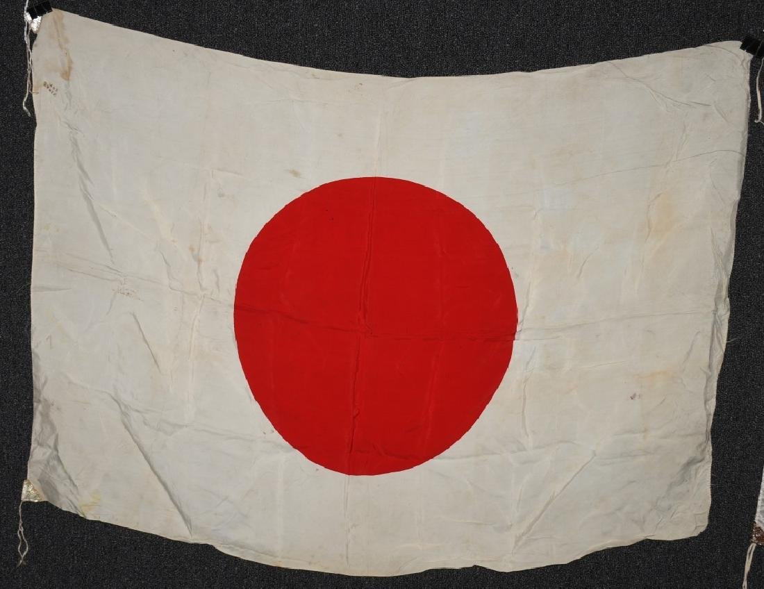 WWII JAPANESE FLAG LOT (2) - 2
