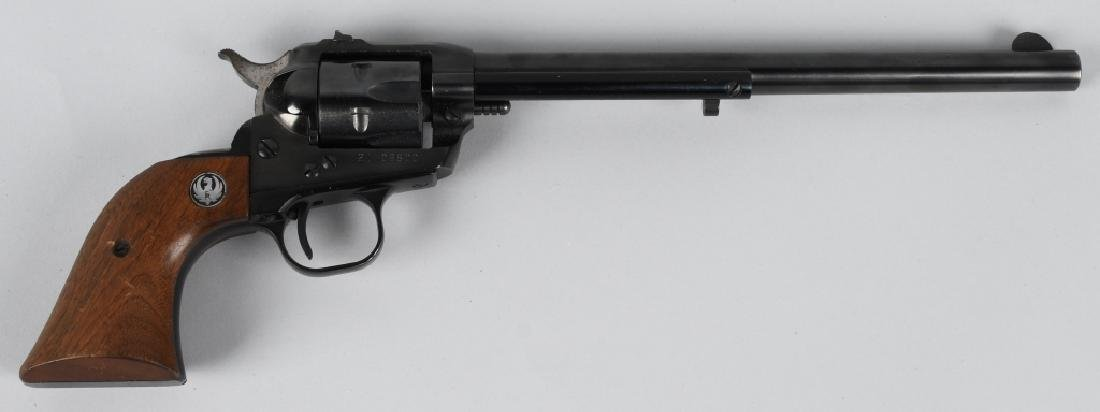 RUGER LONG BARREL SINGLE-SIX .22 REVOLVER