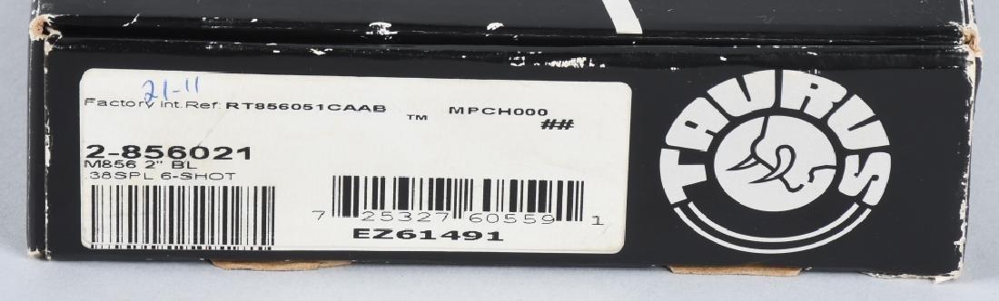 TAURUS MODEL 856 .38 SPECIAL REVOLVER, BOXED - 10