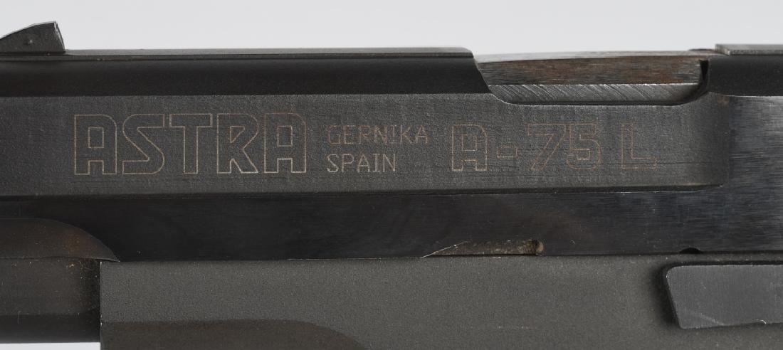 ASTRA SPAIN MODEL A-75L 9mm PISTOL - 4