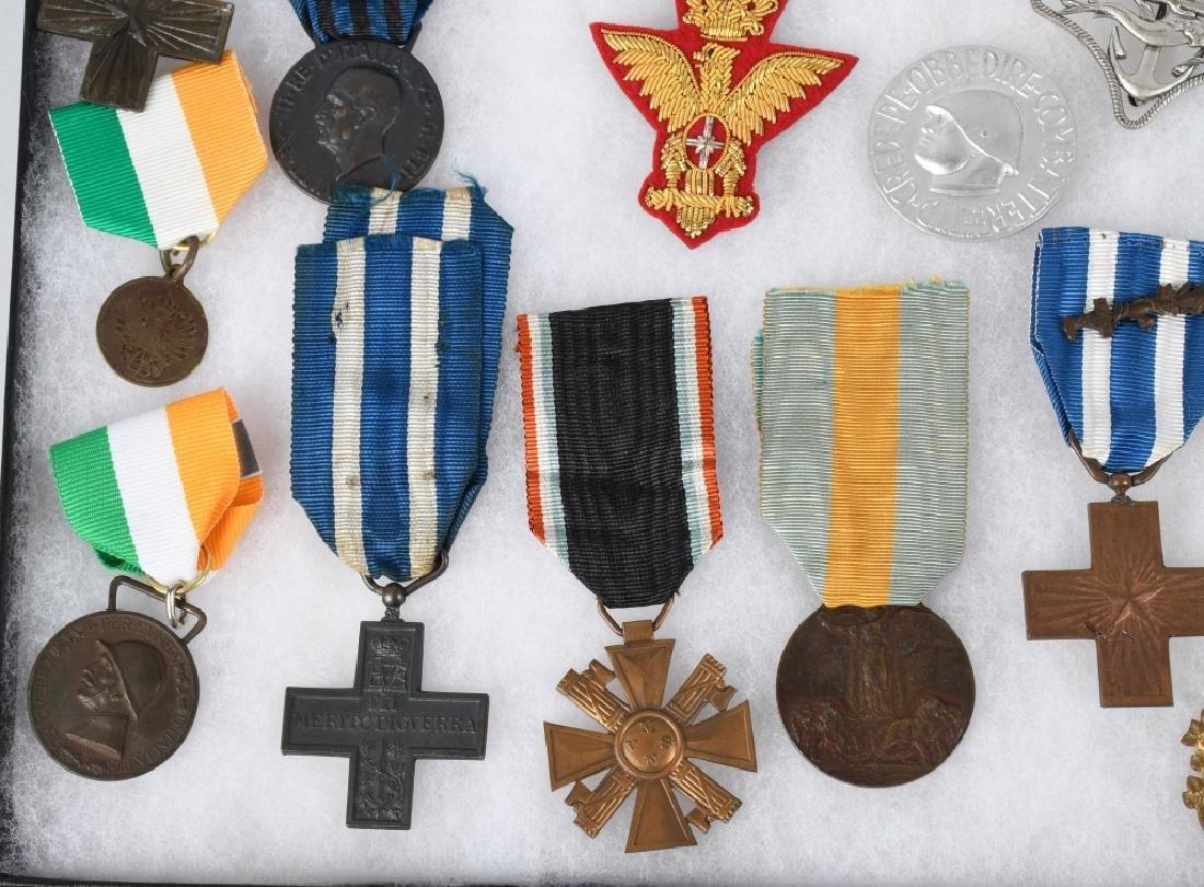 WWI WWII & POST WAR ITALIAN MEDAL & INSIGNIA LOT - 2