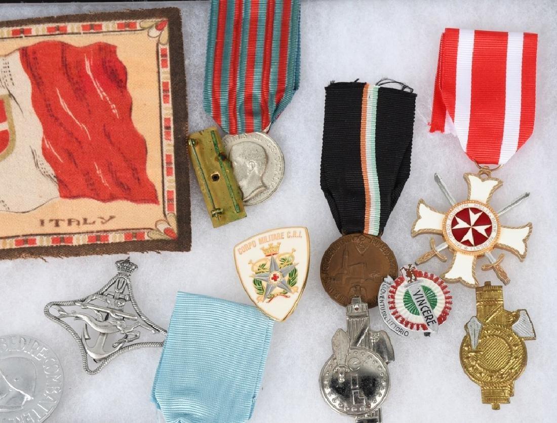 WWI WWII & POST WAR ITALIAN MEDAL & INSIGNIA LOT - 4
