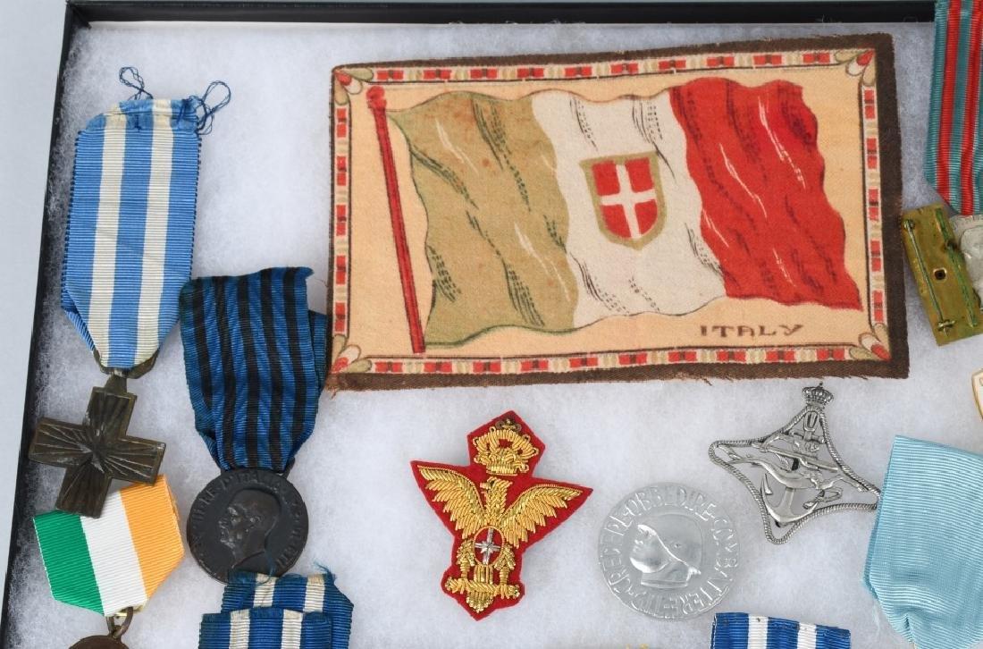 WWI WWII & POST WAR ITALIAN MEDAL & INSIGNIA LOT - 5