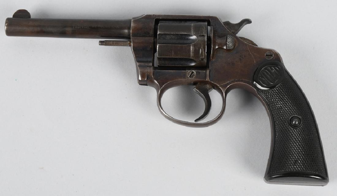 COLT POLICE POSITIVE .32 REVOLVER, MFG 1909 - 2