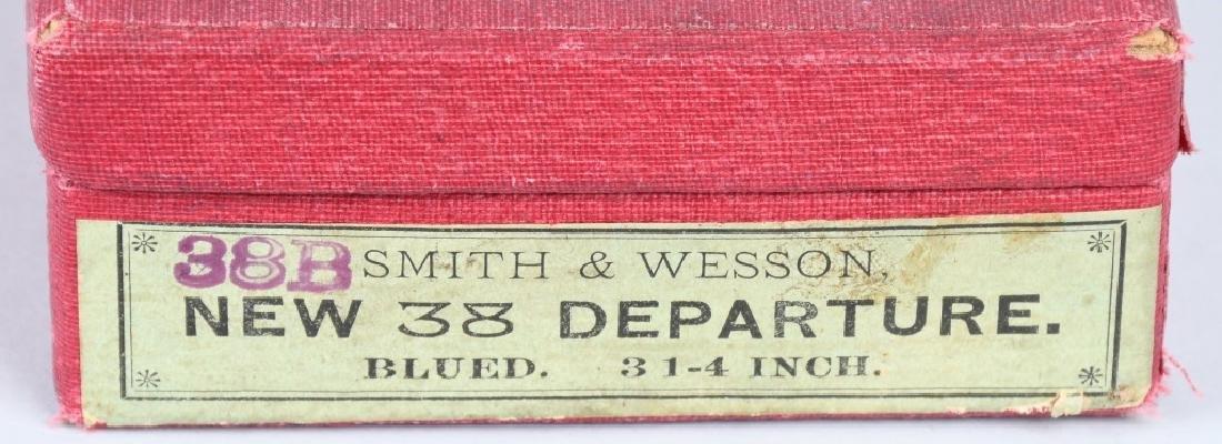 SMITH & WESSON .38 SAFETY 4th MODEL DA REVOLVER - 10