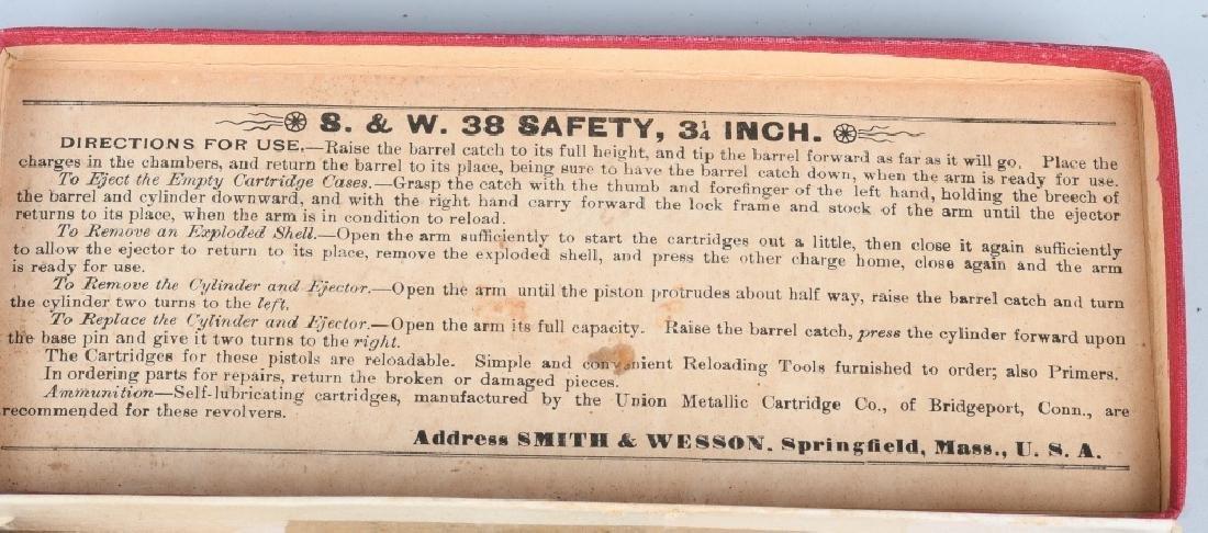 SMITH & WESSON .38 SAFETY 4th MODEL DA REVOLVER - 8