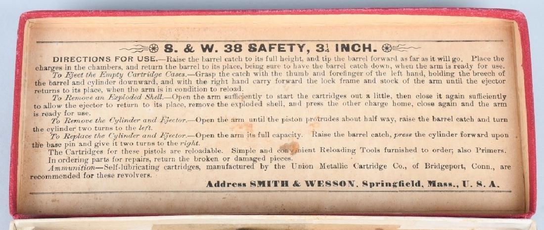 SMITH & WESSON .38 SAFETY 4th MODEL DA REVOLVER - 9