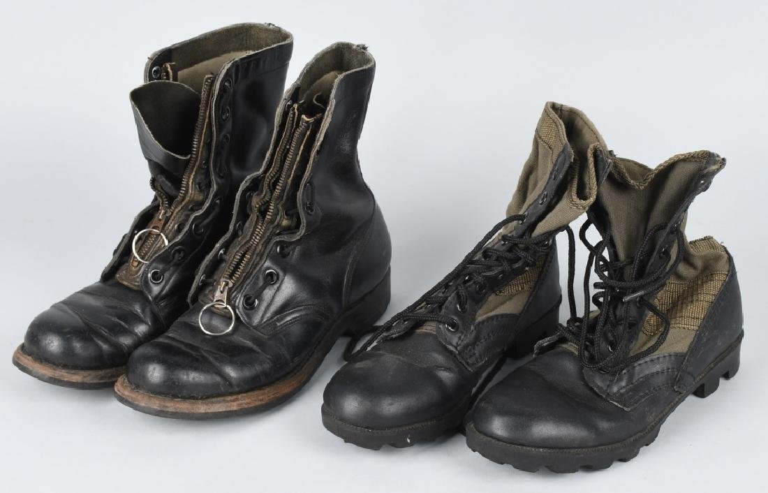 VIETNAM WAR JUNGLE BOOTS & GZ TREADLIGHT BOOTS
