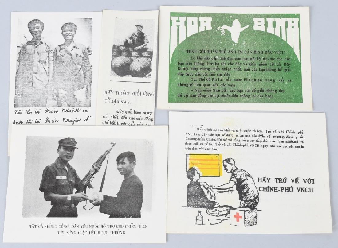 VIETNAM WAR U.S SOUTH VIETNAM PROPAGANDA PAMPHLETS - 8