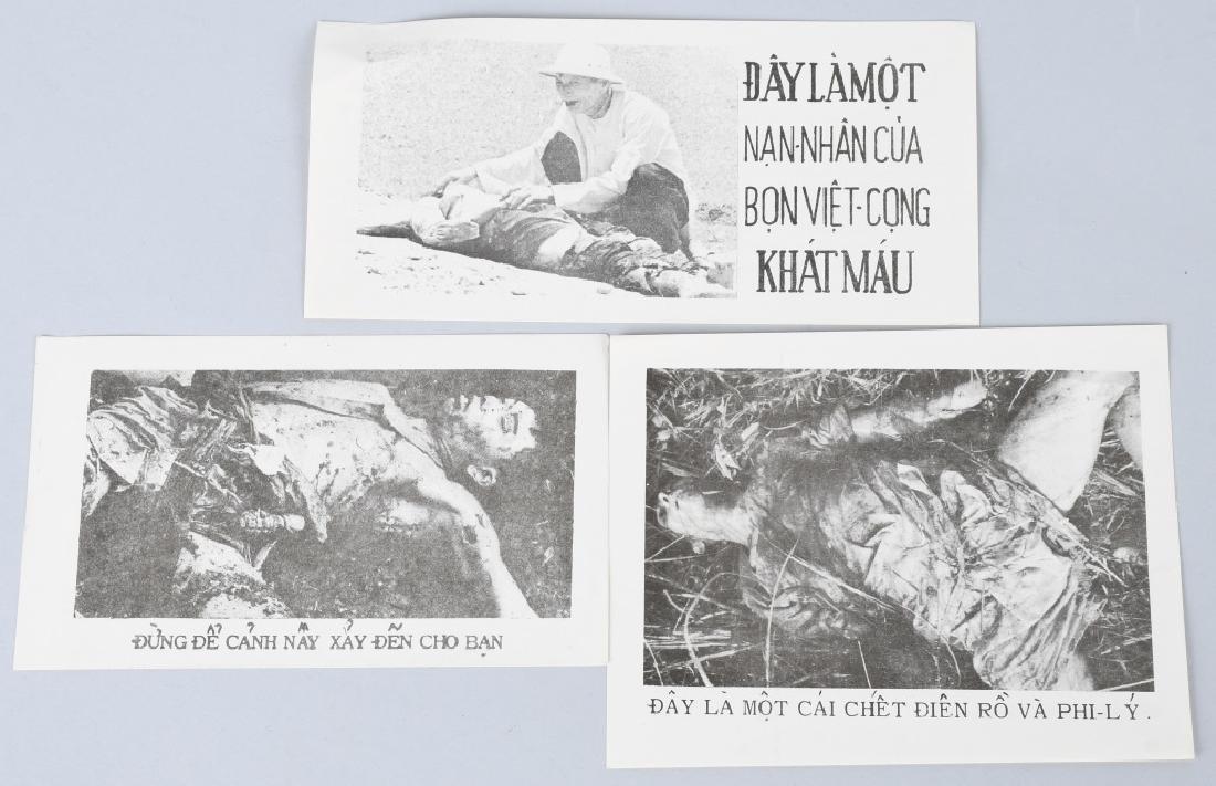 VIETNAM WAR U.S SOUTH VIETNAM PROPAGANDA PAMPHLETS - 7