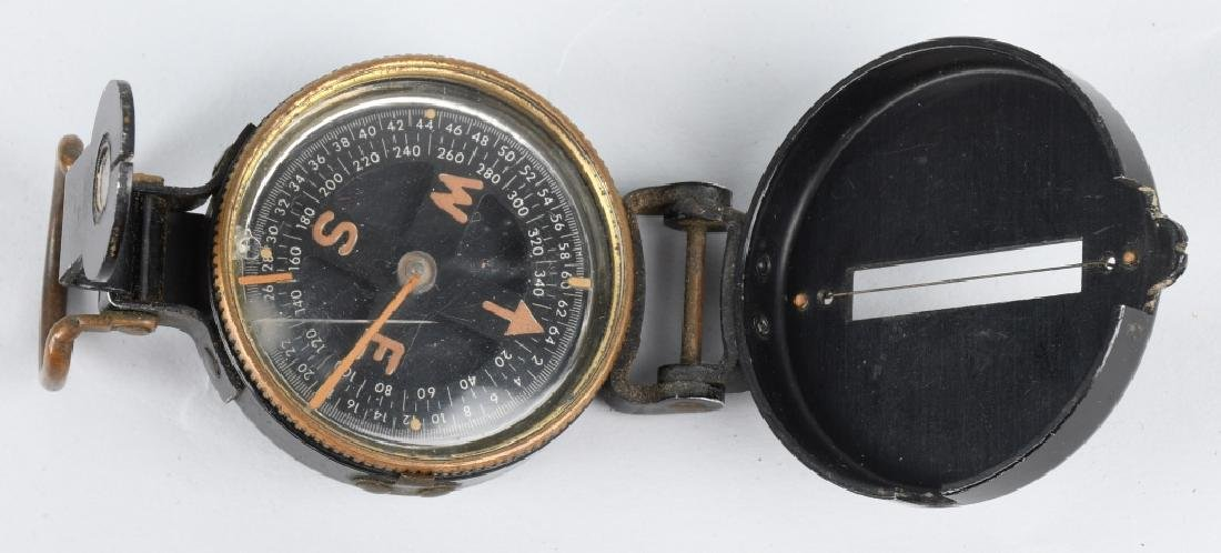 WWII US ENGINEER COMPASS LOT (5) ONE IDED - 3