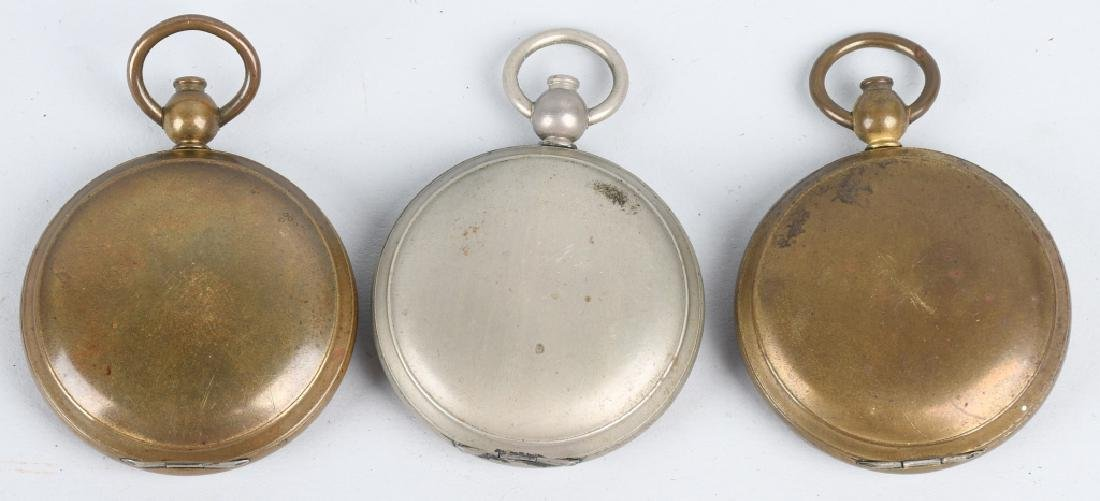 WWII US ENGINEER COMPASS LOT (5) ONE IDED - 4