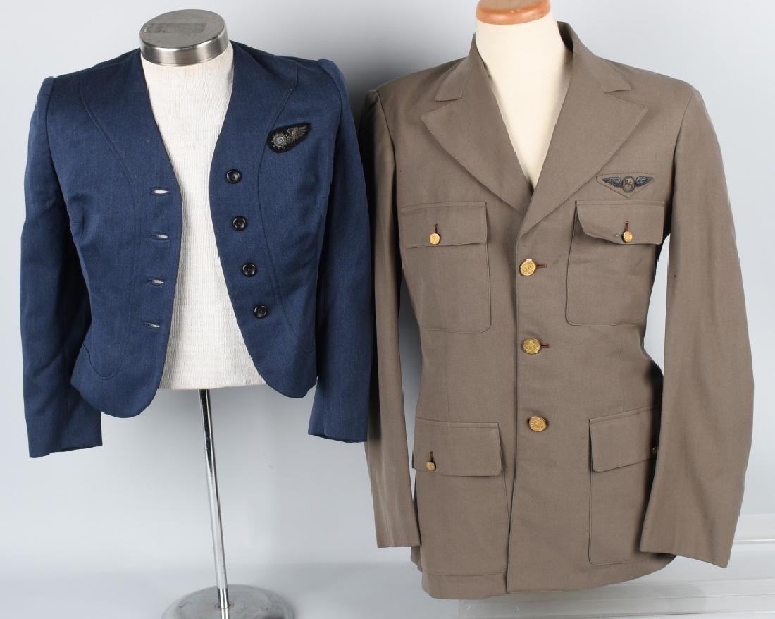 U.S. 1940S -50S AIRLINE JACKETS W/ WINGS