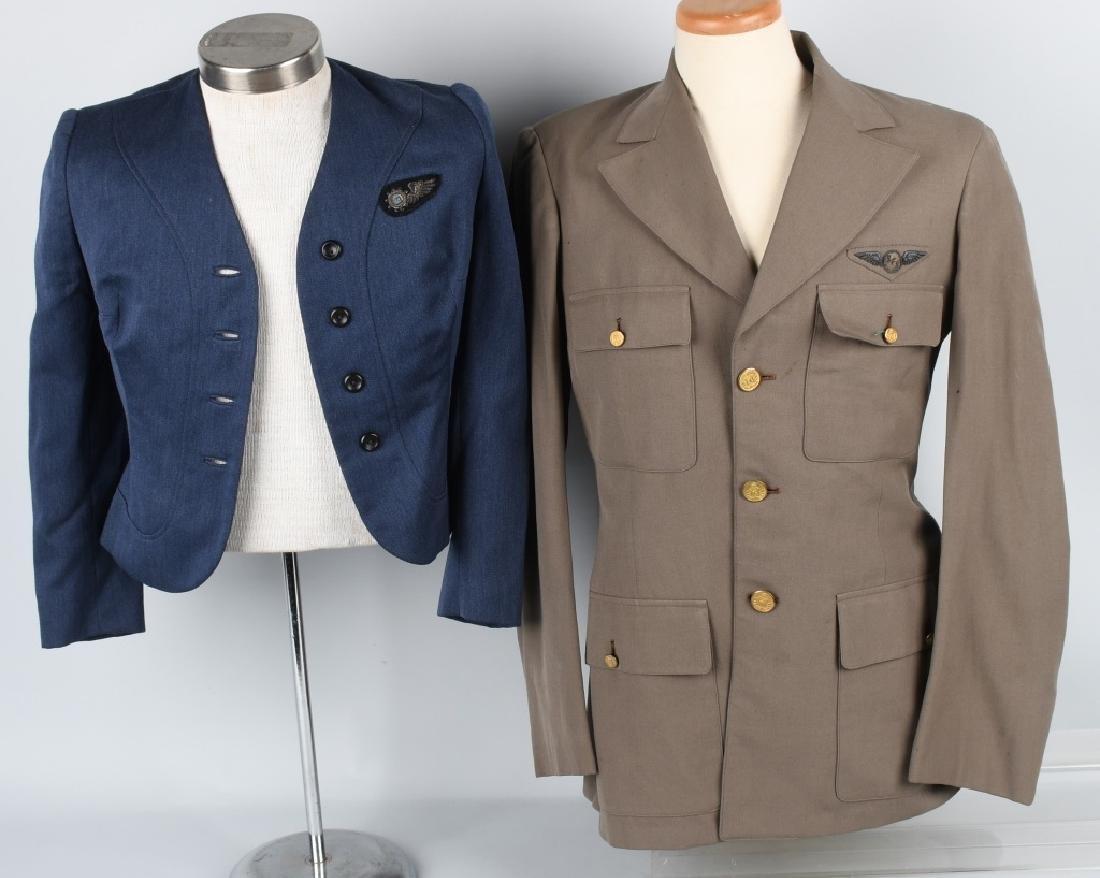 U.S. 1940S -50S AIRLINE JACKETS W/ WINGS