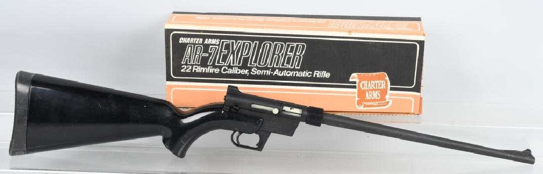CHARTER ARMS AR-7 EXPLORER .22 RIFLE, BOXED